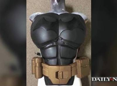 News video: UK Cosplayer 3D Prints Batman Dark Knight Batsuit